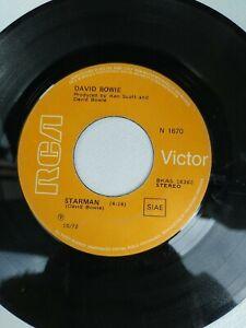 DAVID BOWIE STARMAN  JOHN I'M ONLY DANCING   DISCO 45 GIRI 7' SINGLE
