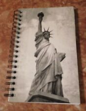 Brand New Journal With Lines-Theme: Statue of Liberty on Back and Front