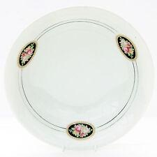 VINTAGE Antico 1920 S Deco Hertel Jacob porcellana che servono Dish Ciotola Floreale Rose