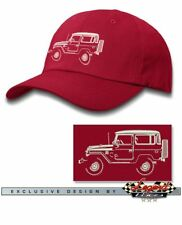 Toyota BJ40 FJ40 Land Cruiser 4x4 Baseball Cap for Men & Women - Multiple Colors