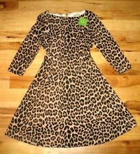 Kate Spade New York Leopard Ponte Dress Womens Size 6 NWT