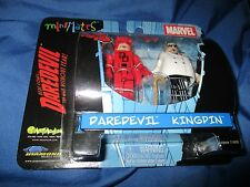 MARVEL UNIVERSE MINIMATES 2-Pack Diamond Figure ~Daredevil & Kingpin (Netflix TV