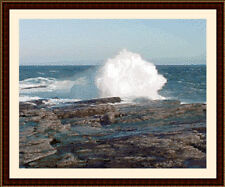 Crashing Waves, Cross Stitch Kit