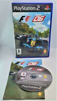 Formula One 06 F1 06 Video Game for Sony PlayStation 2 PS2 PAL TESTED