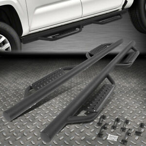 FOR 2005-2021 TACOMA DOUBLE CAB ROUND BAR SIDE STEP NERF BAR RUNNING BOARDS