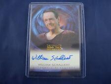 "Complete Deep Space Nine DS9  A23 William Schallert ""Varani"" Autograph Card"