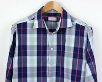 ETON Men Contemporary Check Casual Formal Shirt Size 43 (17) ABZ70
