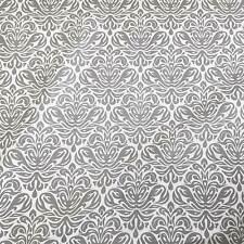 275cabc7881dd Stoff Meterware Baumwollstoff grau weiß Trulli Ornament aus Frankreich  Dekostoff