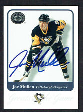 Joe Mullen #79 signed autograph 2001 Fleer Hockey Greats of the Game GOTG