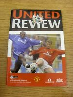 20/08/2000 Manchester United v Newcastle United  . Thanks for viewing our item,