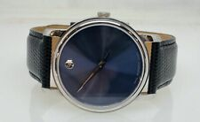 Movado Blue Museum Dial Stainless Steel Mens Watch MO.01.1.14.6000