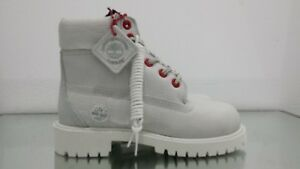 """TIMBERLAND YOUTHS 6"""" PREMIUM WATERPROOF BOOT TB0A1PIT EXO WHT - BRAND NEW IN BOX"""