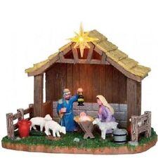 LEMAX Decoración 'Natividad' , Navidad Decoración escena, Batería No Inc. (3xAA)