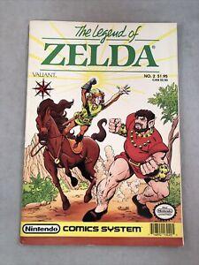 The Legend Of Zelda No. 2 Comic by Valiant Nintendo Comics System 1990