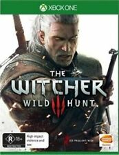 The Witcher III 3 Wild Hunt Xbox One FREE POST LIKE NEW INC MANUAL / MAP /