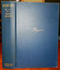 Byron. Andre Maurois. 1930