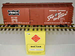 ARISTOCRAFT G  SPECIAL RUN FRISCO SLSF SINGLE DOOR BOX CAR ART-46081-X KADEES