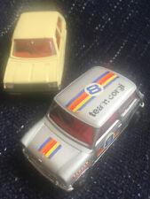 Corgi Toys British Leyland Mini 1000 Team Corgi No 201 Plus Mini Metro.
