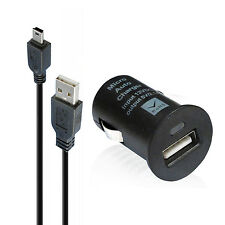 Car Charger fit TomTom GPS GO ONE Replacement Auto boat adpater + USB Data Charg