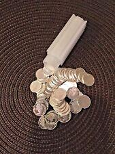 50-1/10 oz Silver Buffalo Rounds .999 Fine Silver Bullion in mint tube 1 Roll