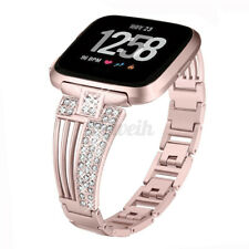 For Fitbit Versa Replacement Milanese Stainless Steel Watch Band Wrist Strap