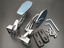 Chromed Racing Rearview long Mirrors For Honda CBR 600 F4 F4I RR 954 929 1000