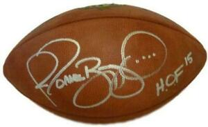 Jerome Bettis Autographed Pittsburgh Steelers Official Football HOF JSA 10508