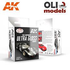 Cars & Civil Vehicles: 2-Part ULTRA GLOSS VARNISH LACQUER - AK Interactive 9040