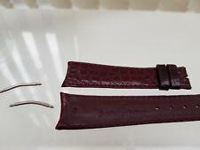 Genuine AUDEMARS PPIGUET watch Replacement Purple  Leather Strap 20mm +pins(a46