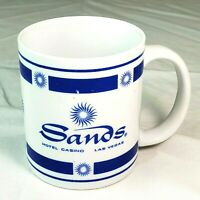 Vintage 90s Sands Hotel and Casino Las Vegas Nevada Coffee Mug Cup Free Shipping
