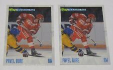 2 for 1 1993 Classic Hockey Draft PAVEL BURE #PR3 Promotional CCCP Russia NHL