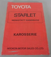 Workshop Manual Toyota Starlet Body, Stand 1978