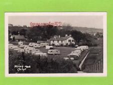 Min y Mor Caravan Site Camp Nr Barmouth plain back unused RP pc Ref D178