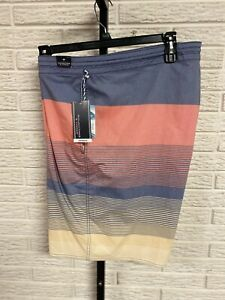 Roundtree & Yourke mens SWIMSUIT trunks shorts board stretch 44 NEW $69.50 #149