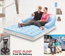 Bestway Inflatable 5 In 1 Sofa-Bed Couch Double Airbed With Pump New