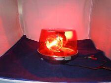 Rare Vintage Federal Mogul / Signal Stat Model 370 Rotating Beacon Light
