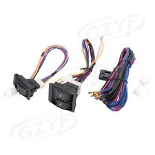Universal Car Power Electric Window Master Control Switch With Wire Harness Kit