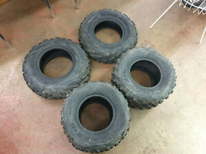 Yamaha Raptor YFM700R & SE, YFZ450 MAXXIS OFF-ROAD ONLY TYRES SET OF 4, 2 FRONT