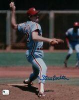 Steve Carlton Signed 8X10 Photo Autograph Phillies HOFer Auto GAI COA Wind-Up
