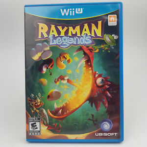 Rayman Legends ( Nintendo Wii U ) ~ Very Good Condition ~ Free Shipping in CAN!!