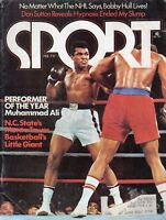1975 (Feb.) Sport Magazine, Boxing, Muhammad Ali~ Performer of the Year! ~ Fair