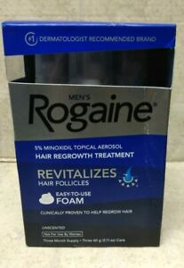 Men's Rogaine revitalizes hair follicles 60g/2.11 Oz exp 11/22#350