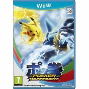 Pokemon Pokken Tournament Wii U Video Game Fast Delivery!
