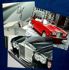 Prospekt brochure 1975 rolls royce portfolio (Estados Unidos)