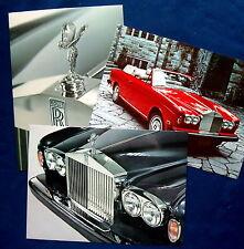 Prospekt brochure 1975 Rolls Royce Portfolio  (USA)