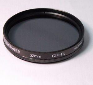 Used Promaster 52mm CIR-PL Filter