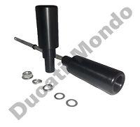 Crash bung protector bar slider kit Ducati 848 1098 1198 08-13 inc S R SP Evo