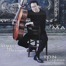 Yo-Yo Ma - Simply Baroque [New SACD] Hong Kong - Import