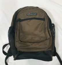 Ogio Cooper Metro Street Black Tan Laptop Hydration Audio Pocket Backpack