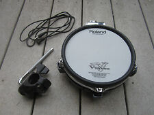 Roland PD-85 BK Dual Mesh V Drum Pad PD85 PD-85bk w/clamp + cable